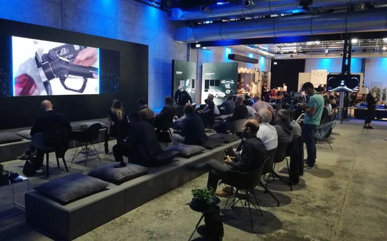Ο χώρος όπου πραγματοποιήθηκε η δημοσιογραφική παρουσίαση της νέας γκάμας EQ Power στη Στουτγάρδη