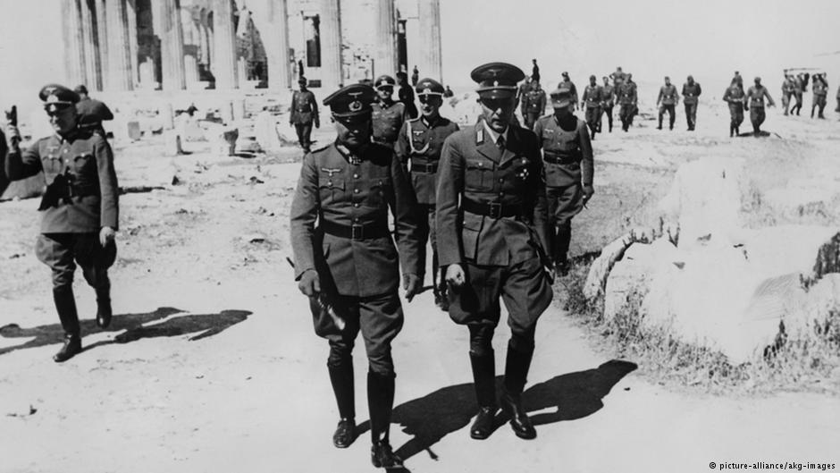Ο στρατάρχης Βάλτερ φον Μπράουχιτς στην Ακρόπολη
