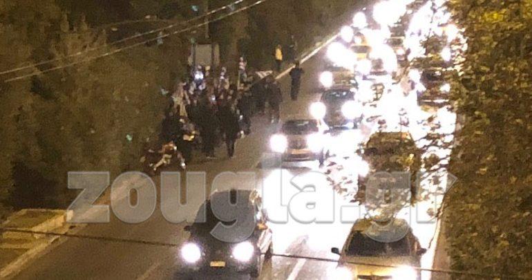 Συγκέντρωση διαμαρτυρίας έξω από την Αλβανική πρεσβεία – Κλειστή η Κηφισίας