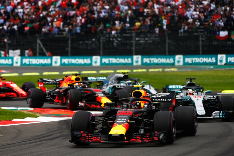 Την 5η νίκη της καριέρας του κατέκτησε και μάλιστα με μεγάλη ευκολία στο Μεξικό ο Verstappen