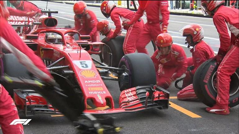 O Vettel το πάλεψε αλλά δεν τα κατάφερε...