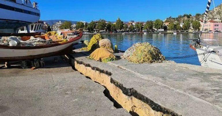 Τρία εκατοστά νοτιοδυτικά μετακινήθηκε η Ζάκυνθος μετά τον σεισμό