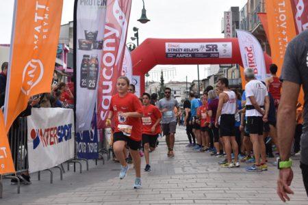 Οι Λαρισαίοι έτρεξαν για καλό σκοπό, στα «Bίκος Street Relays» της Λάρισας (φωτο – βίντεο)