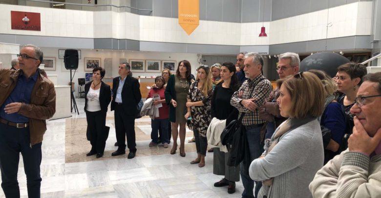 Πραγματοποιήθηκε η ξενάγηση για τα μέλη του Συλλόγου «Φίλοι της Δημοτικής Πινακοθήκης σε έκθεση φωτογραφίας