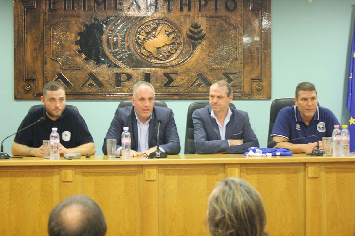 Παρουσίασε χορηγούς και ομάδα ο Ερμής Αγιάς-Λάρισας