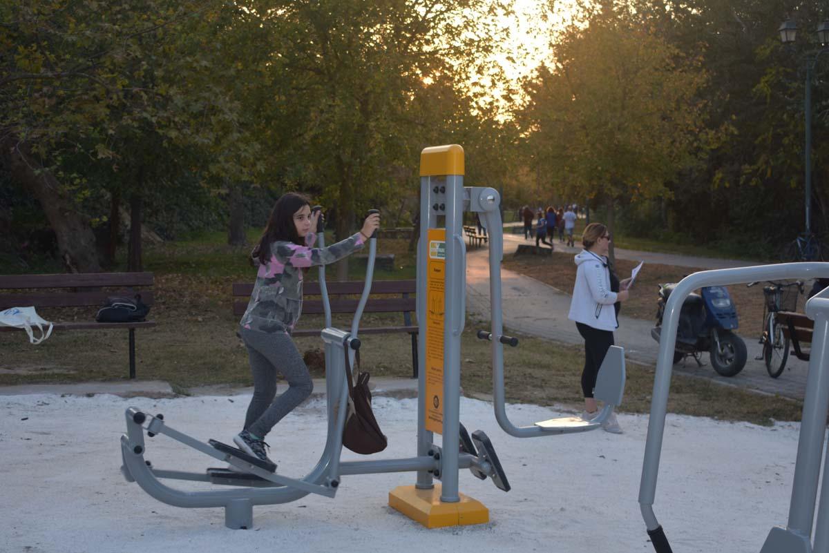 Έτοιμο το σύγχρονο υπαίθριο γυμναστήριο στο Αλκαζάρ - Έρχεται και δεύτερο στο «Πάρκο των Χρωμάτων»