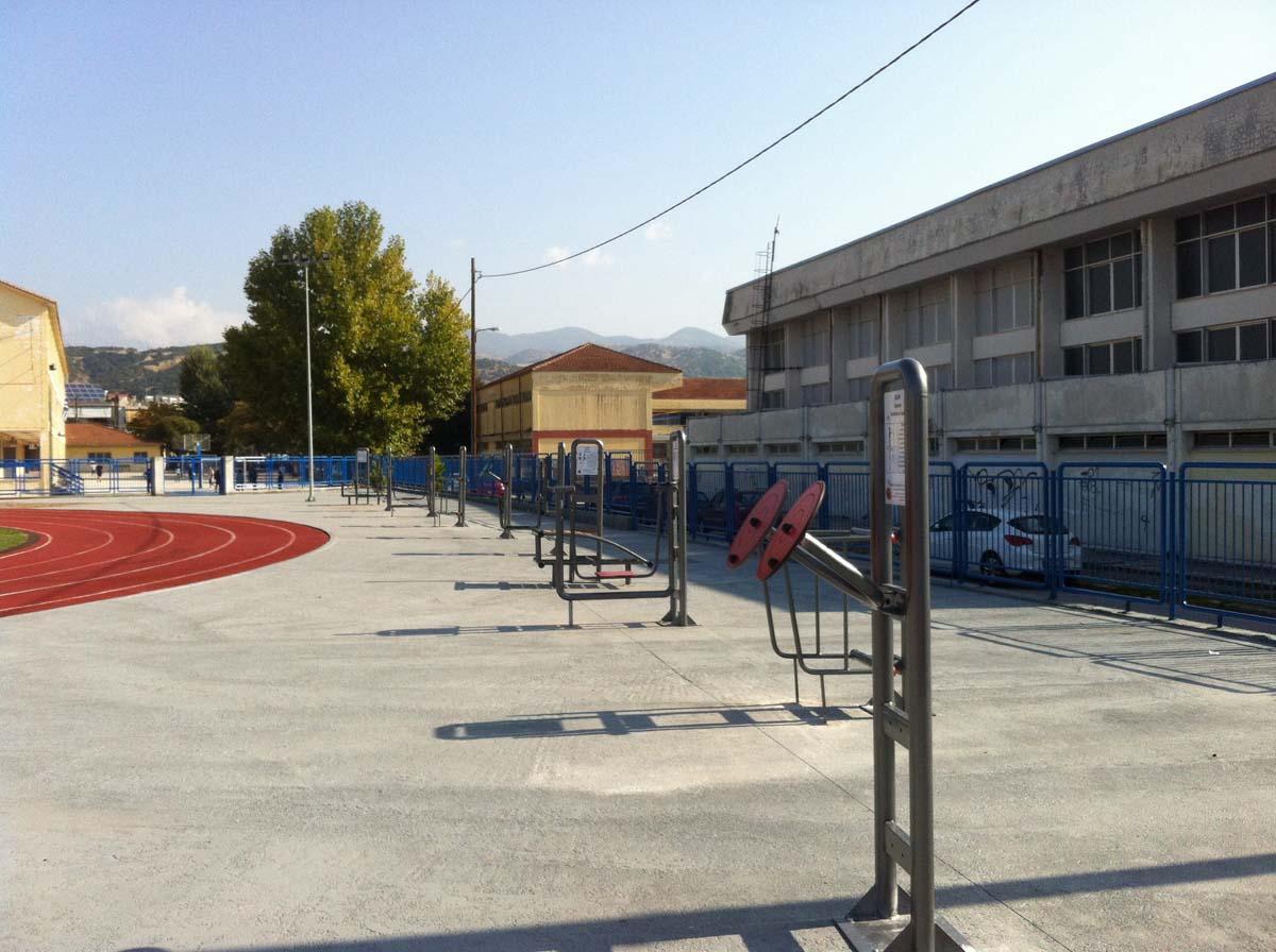 Όργανα γυμναστικής στον Στίβο της Ελασσόνας
