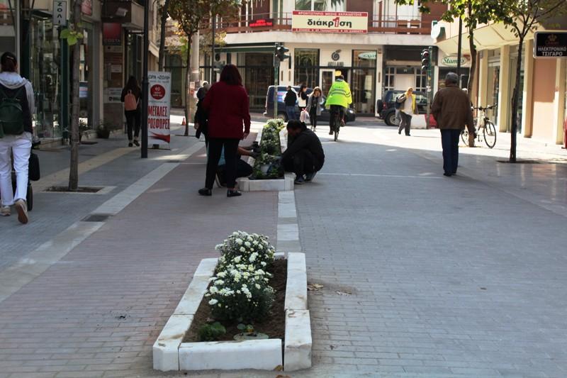 Στην τελική ευθεία πολλά από τα έργα στο κέντρο της Λάρισας - Δείτε φωτογραφίες
