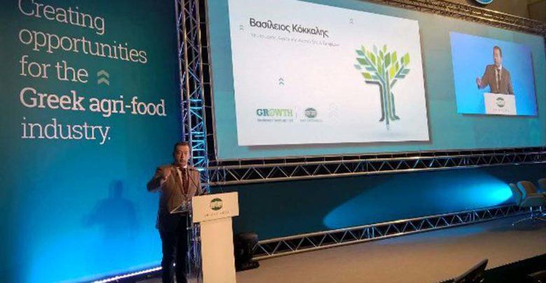 Ο Β. Κόκκαλης στην Ημερίδα της Εθνικής Τράπεζας της Ελλάδος με θέμα τις «Εξελίξεις στον τομέα των Ελληνικών Τροφίμων και Ποτών»