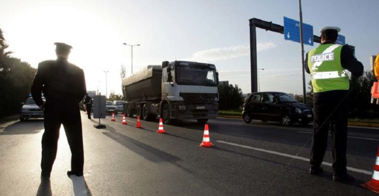 Προσωρινές κυκλοφοριακές ρυθμίσεις στην Εθνική Οδό Λάρισας - Ελασσόνας