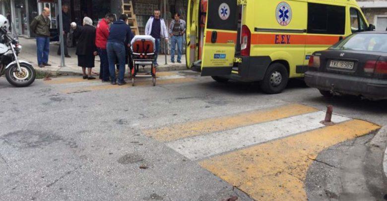 Σοβαρός τραυματισμός γυναίκας στο κέντρο των Τρικάλων