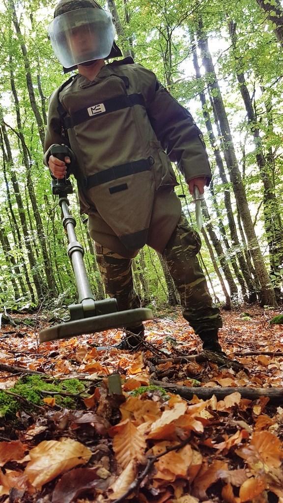 Κοινωνική προσφορά Στρατού Ξηράς με εκκαθάριση πυρομαχικών από το ΤΕΝΞ