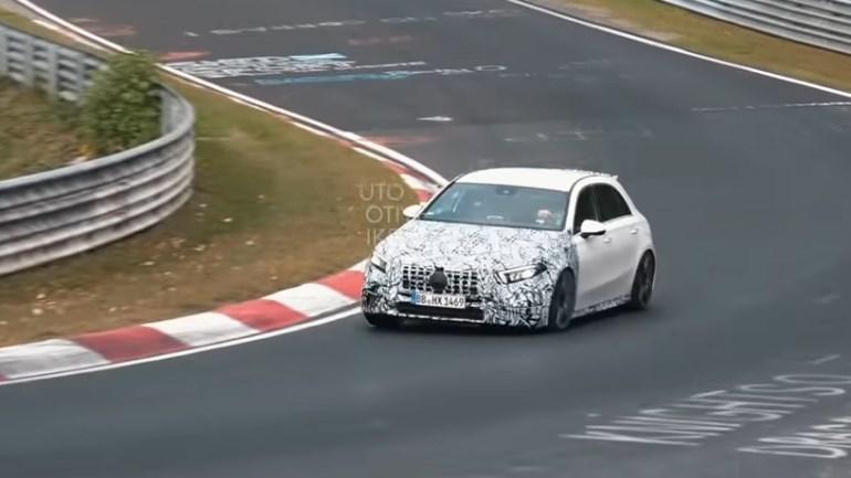 Το πρώτο video της νέας Mercedes-AMG A 45