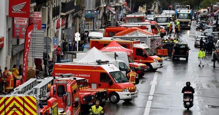 Ένας ακόμη νεκρός ανασύρθηκε από τα ερείπια δύο κτηρίων στη Μασσαλία