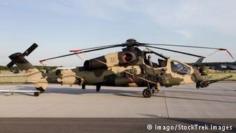 Το τουρκικό στρατιωτικό ελικόπτερο Τ129 Ατάκ