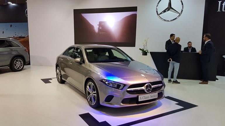 Πρώτη εμφάνιση για την Mercedes A-Class Sedan