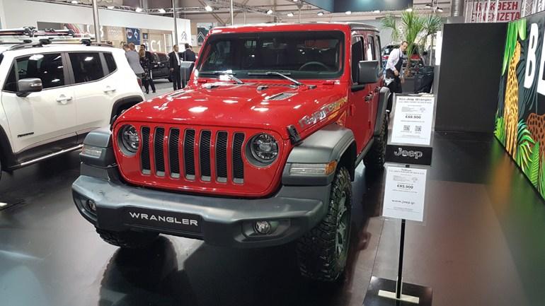 Η νέα γενιά του Jeep Wrangler...