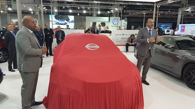 Αποκάλυψη για το αγωνιστικό Nissan Micra... (Δεξιά ο Μάριος Μπαρκής και αριστερά ο Θέμης Χαλκιάς)
