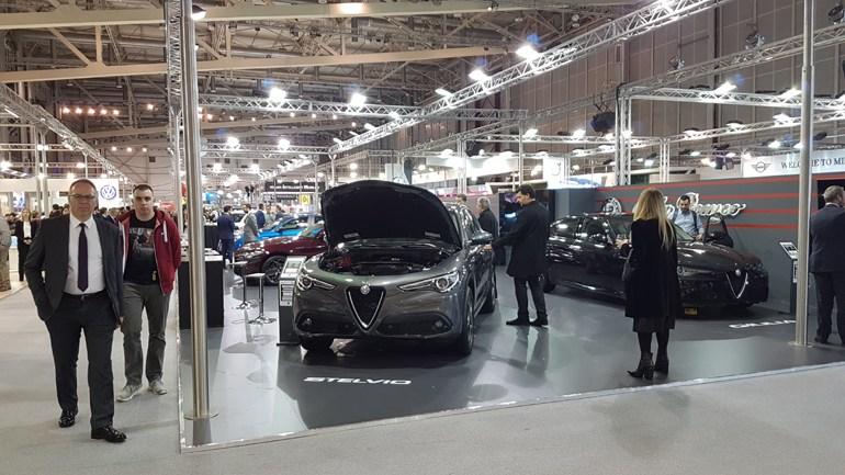 H Alfa Romeo βρίσκεται στην έκθεση...