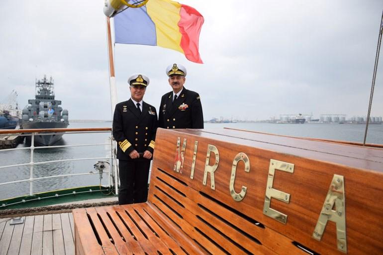 Επίσημη επίσκεψη Αρχηγού ΓΕΝ στη Ρουμανία