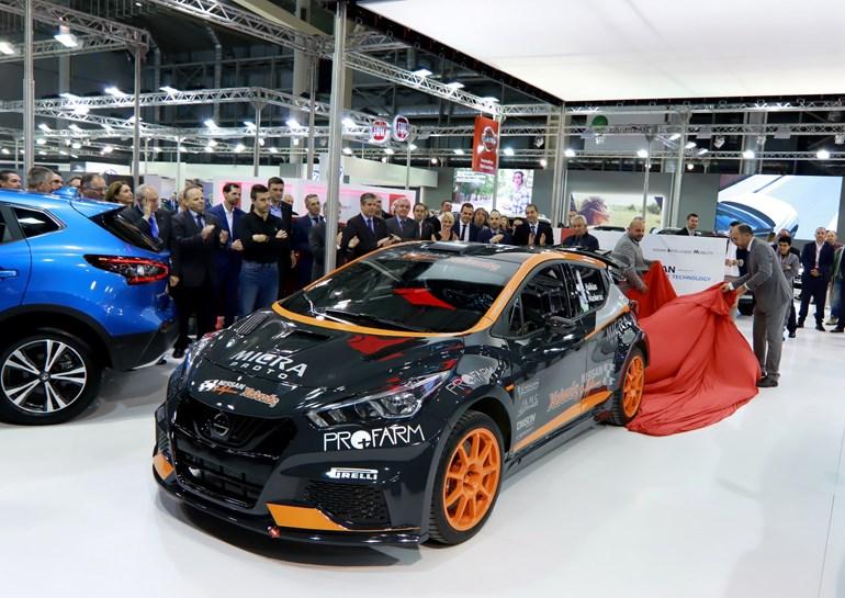 Το πρωτότυπο αγωνιστικό Nissan Micra Proto παρουσιάστηκε πριν από λίγες ημέρες στην έκθεση αυτοκινήτου...