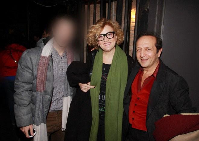 Ο 29χρονος με την Ηρώ Μανέ και τον Σπύρο Μπιμπίλα