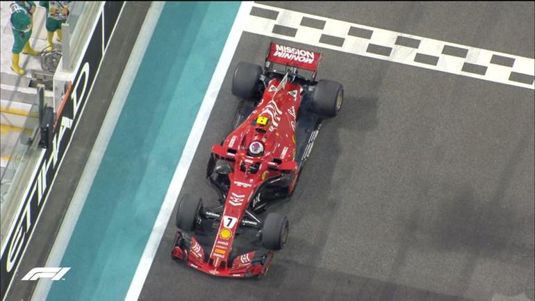 Στον τελευταίο του αγώνα με τη Ferrari o Raikkonen εγκατέλειψε...