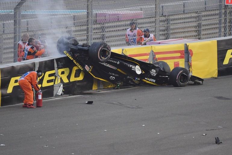 Η άτυχη στιγμή του Hulkenberg στον πρώτο γύρο...
