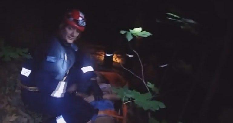 Κρήτη: Καρέ καρέ η επιχείρηση διάσωσης της 25χρονης στο φαράγγι του Ρίχτη