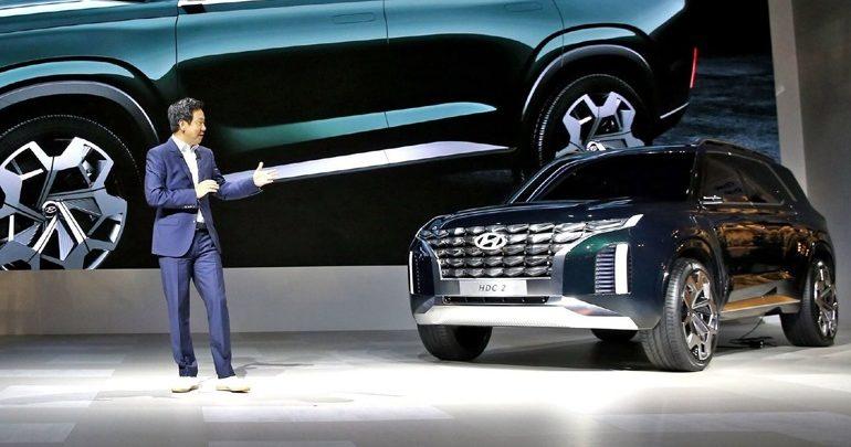 Το νέο μεγάλο SUV της Hyundai ονομάζεται Palisade
