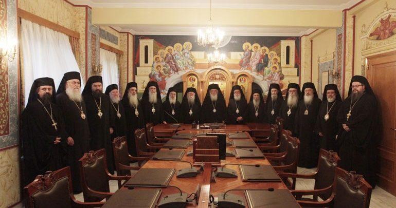 Στις 16 Νοεμβρίου συνέρχεται η Ιερά Σύνοδος για τη συμφωνία Τσίπρα-Ιερώνυμου