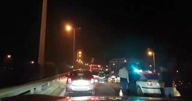 Σύγκρουση οχημάτων στον Κηφισό - Έντονο κυκλοφοριακό πρόβλημα