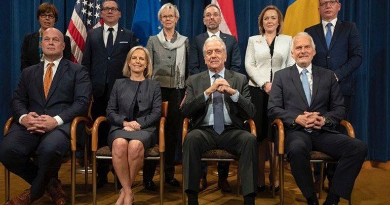 Κοινή δήλωση ΕΕ – ΗΠΑ μετά την ολοκλήρωση της Υπουργικής Διάσκεψης Εσωτερικών Υποθέσεων και Δικαιοσύνης