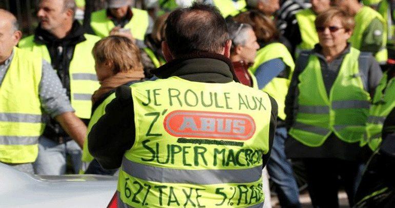 Γαλλία: Περίπου 2.000 συγκεντρώσεις διαμαρτυρίας και 124.000  διαδηλωτές του κινήματος  «Κίτρινα Γιλέκα»