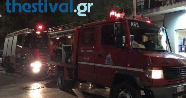 Θεσσαλονίκη: Φωτιά σε κεραμοσκεπή κατοικίας στον Εύοσμο