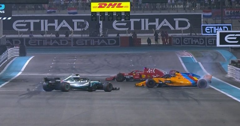 Οι Hamilton και Vettel αποχαιρετούν τον Alonso