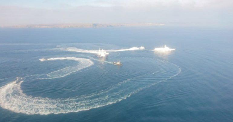 Στο λιμάνι του Κερτς τα ουκρανικά πλοία που κατελήφθησαν από ρωσικά