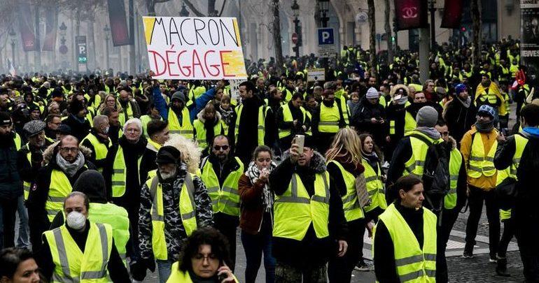 Η «κίτρινη οργή» των Γάλλων