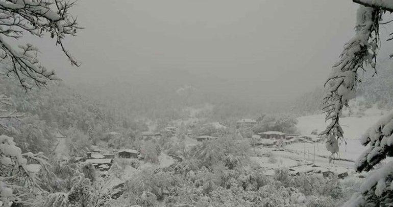 Χιονοπτώσεις στα ορεινά της Ηπείρου