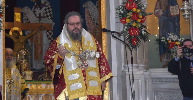 Πρώτη Θεία Λειτουργία για τον νέο Μητροπολίτη Λαρίσης και Τυρνάβου Ιερώνυμο στη Λάρισα (φωτο-βίντεο)