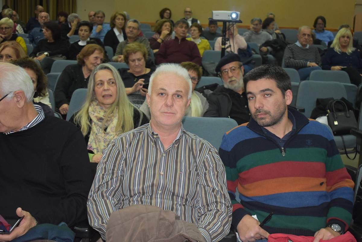 Το μεγάλο ταξίδι του Ματαρόα φωτίστηκε στην ενδιαφέρουσα εκδήλωση που έγινε στο Χατζηγιάννειο (φωτο)