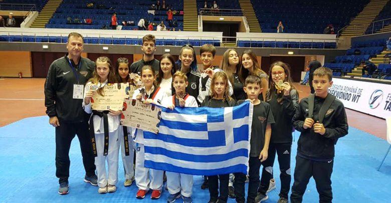 Δεύτερη θέση για τον σύλλογο της Λάρισας ΟLARISSA TAEKWONDO CLUB σε διεθνές πρωτάθλημα στη Ρουμανία