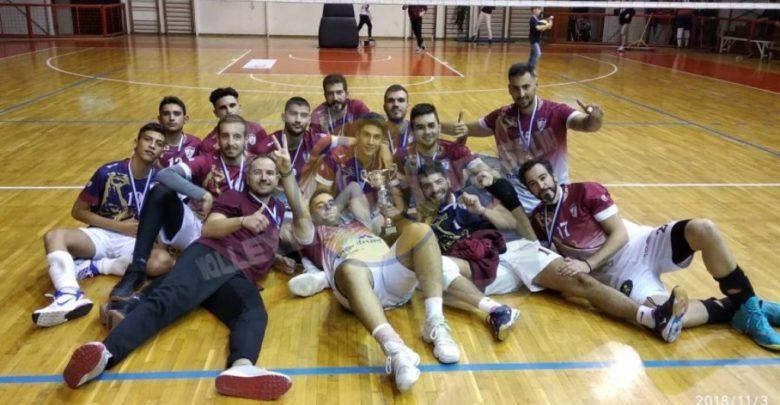Η Α.Ε. Λάρισας νικήτρια στον τελικό κυπέλλου της ΕΣΠΕΚΕΛ