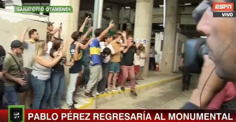 Οπαδοί της Μπόκα έσπευσαν στο νοσοκομείο για τον τραυματισμένο αρχηγό της ομάδας (βίντεο)