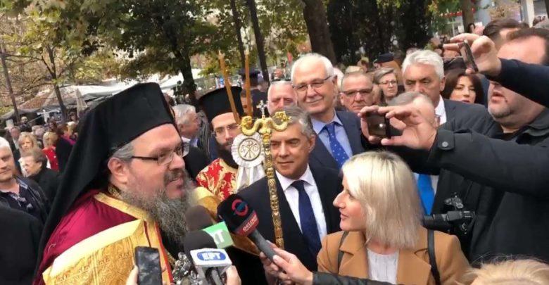 Βίντεο: Οι πρώτες δηλώσεις Ιερώνυμου στη Λάρισα: Όλοι ενωμένοι για το καλό της Εκκλησίας και του τόπου
