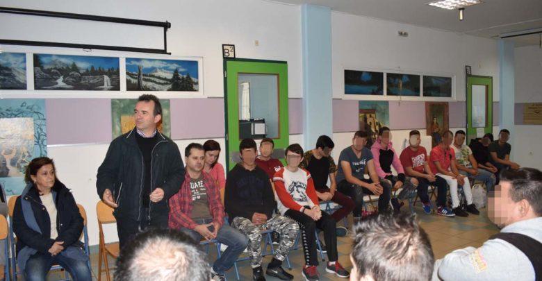 Εκπαιδευτική επίσκεψη στο Σχολείο Φυλακής: Τα είπαν ως...συμμαθητές!