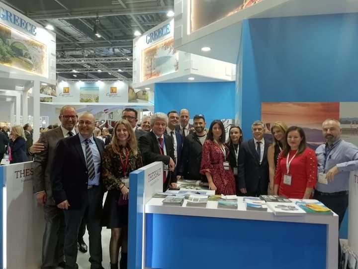 Δυναμικά η Περιφέρεια Θεσσαλίας στην κορυφαία παγκόσμια έκθεση τουρισμού στο Λονδίνο