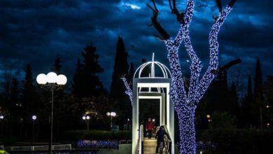 Άναψαν τα φώτα στο Πάρκο των Ευχών - Μαγευτικές εικόνες