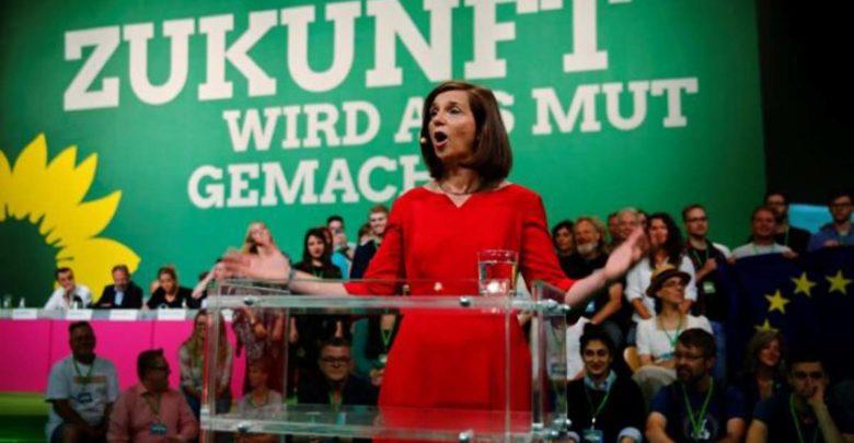 Γερμανία : Δεύτερο κόμμα οι Πράσινοι, τρεις μονάδες πίσω από τη Χριστιανική Ένωση