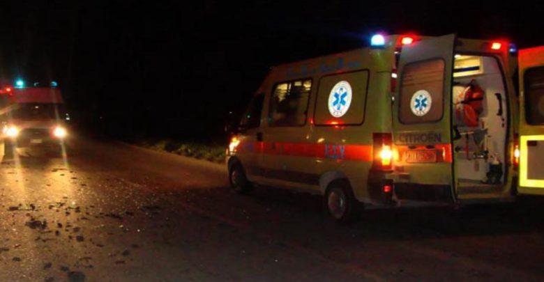 Εννέα τραυματίες σε τροχαίο λίγο έξω από τη Λάρισα - Μία 36χρονη γυναίκα σε σοβαρή κατάσταση!
